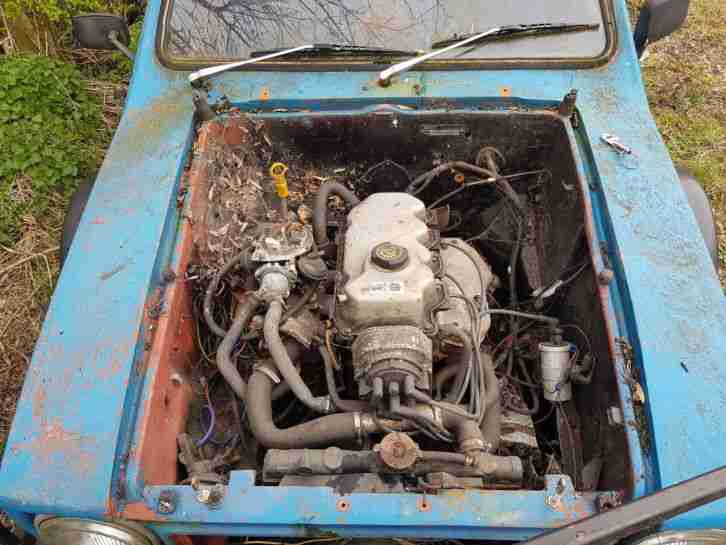 1976 RELIANT KITTEN VAN BLUE 1800CC!! TRACK PROJECT DRIFT