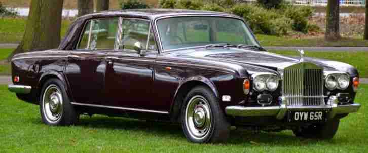 1976 Rolls Royce Silver Shadow 1 used for