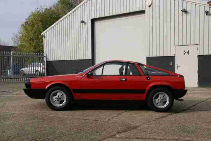 1977 Lancia Beta Montecarlo - UK RHD