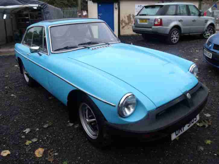 1977 MG MGB B GT 2 door Sports