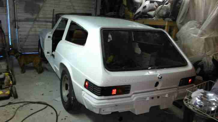 1977 RELIANT SCIMITAR GTE AUTO WHITE SPARES OR REPAIR UNFINISHED PROJECT