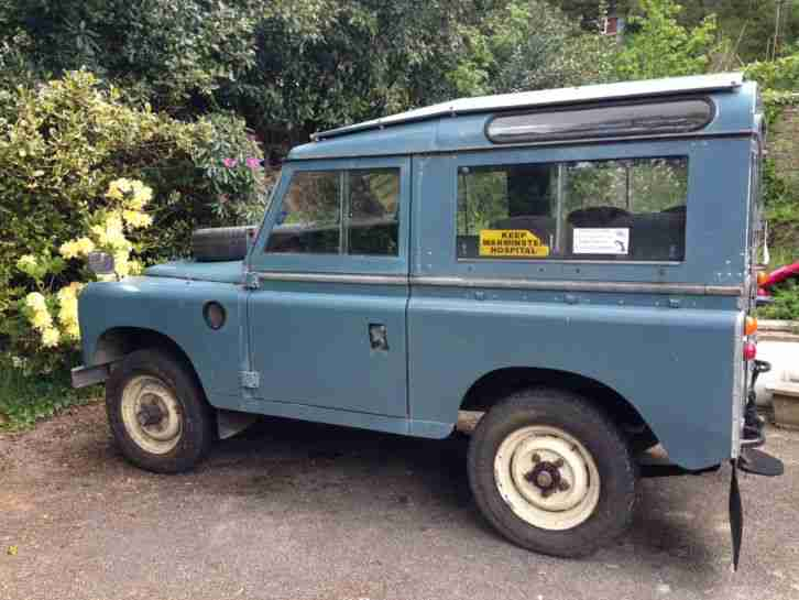 1978 LAND ROVER 88 4 CYL BLUE