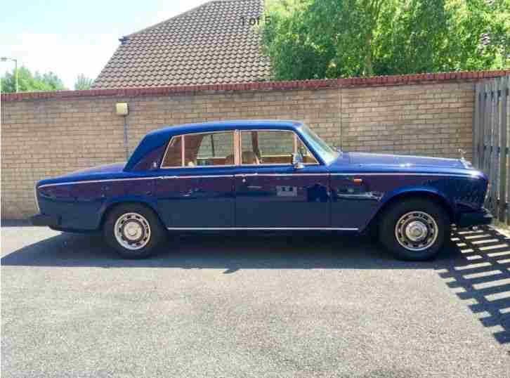 1978 ROLLS ROYCE SILVER SHADOW II 2 PURPLE/BLUE FULL HISTORY DRIVES SUPERB
