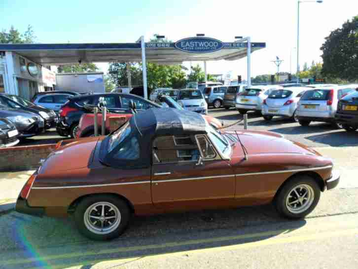 1979 MG MGB B Roadster S Sports One owner from New! Just MOTd!