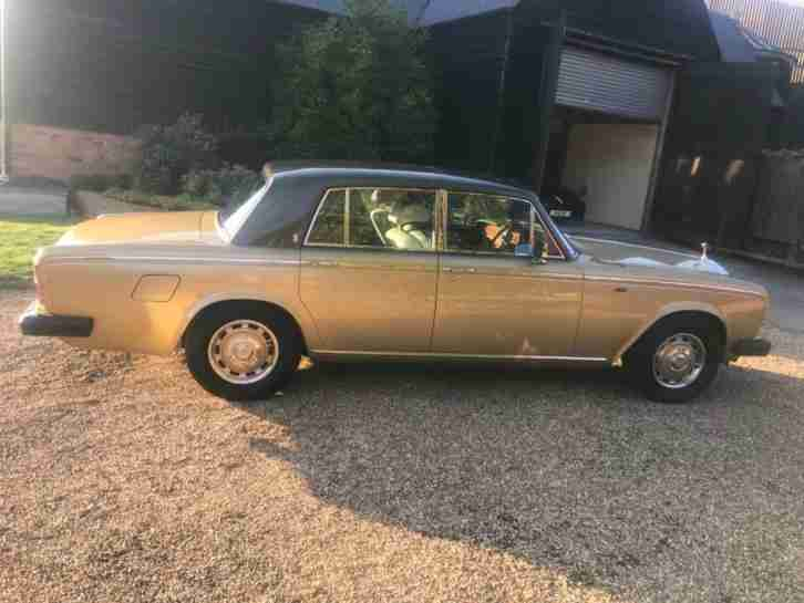 1980 Rolls Royce Silver Shadow Shadow 2 6.8 4 Door 4 door Saloon