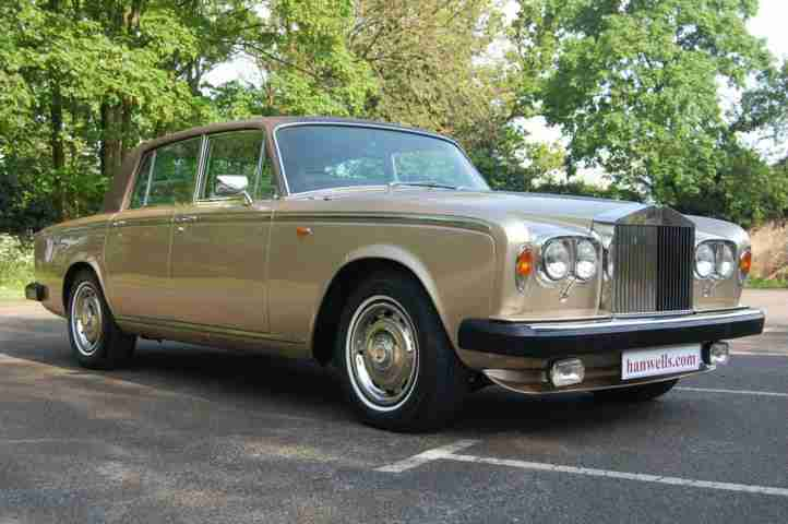 1980 W Rolls Royce Silver Shadow Series II in Silver Sand