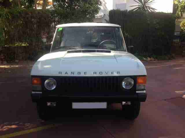 1982 Range Rover Classic 2 Door 3.5 V8 LHD Left Hand Drive - In Spain