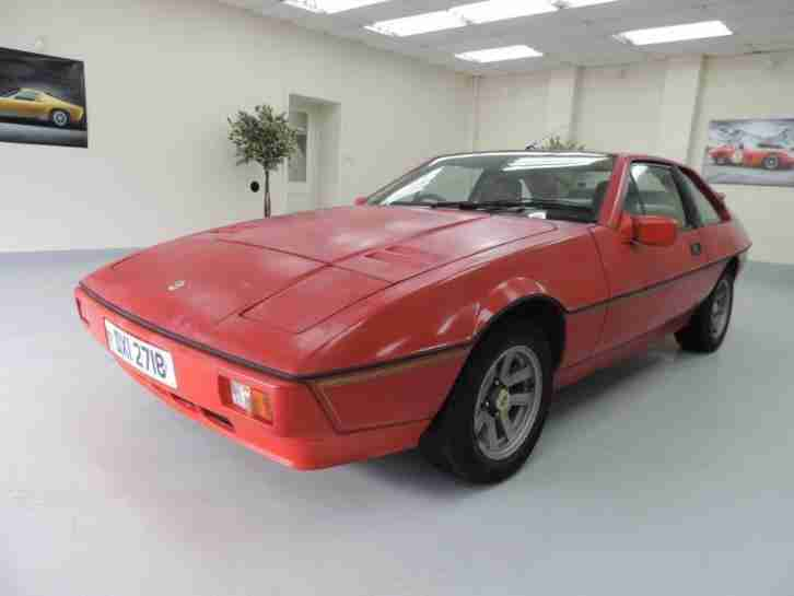 1984 Lotus Excel 2.2 2dr