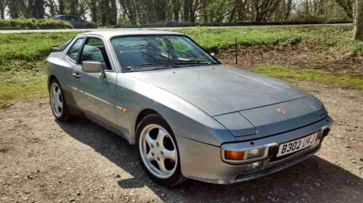 porsche 1985 944 silver car for sale. Black Bedroom Furniture Sets. Home Design Ideas