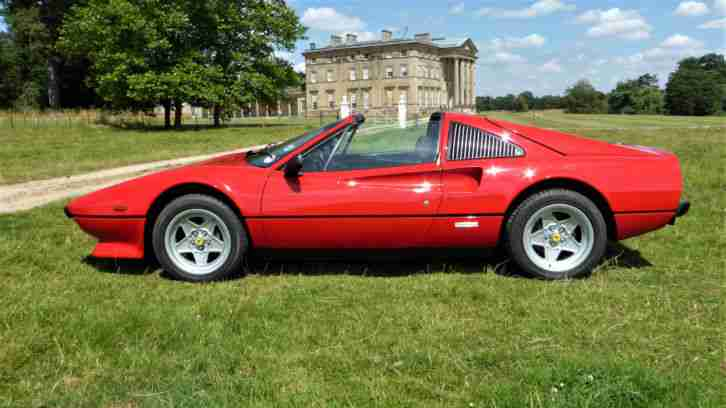 Ferrari 308. Ferrari car from United Kingdom