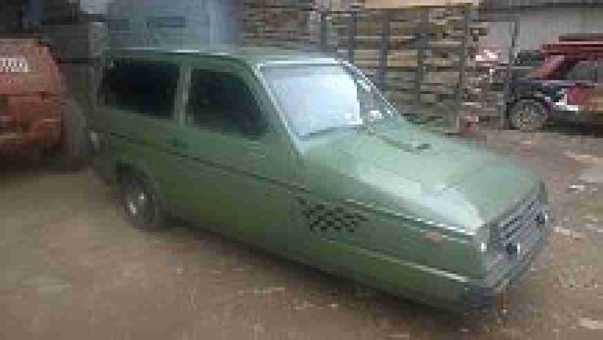 1986 RELIANT RIALTO GLS ESTATE GREEN