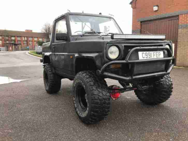 1986 fourtrak rocky 2.8td pickup off