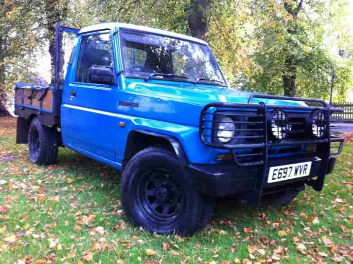 Daihatsu 1987 Fourtrak Dx Diesel Blue Pick Up Full Mot