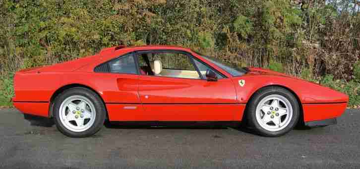 1987 FERRARI 328 GTB 1 OF 130 RHD