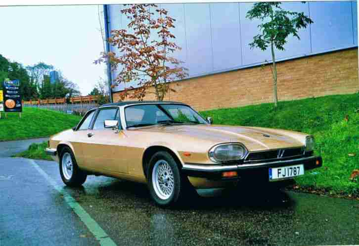 1987 JAGUAR XJS C-3.6 GOLD, Classic, Very good condition