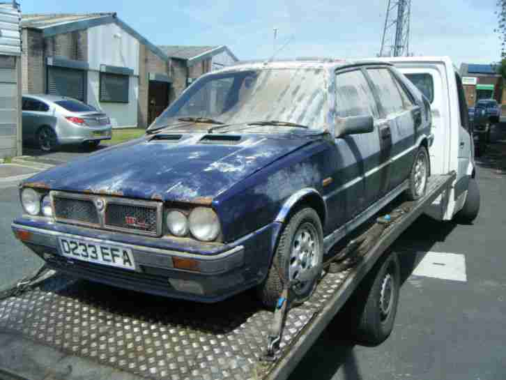 lancia 1987 delta hf turbo ie barn find spares or repairs. Black Bedroom Furniture Sets. Home Design Ideas