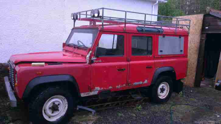 1987 LAND ROVER 110 FIRE ENGINE 24k
