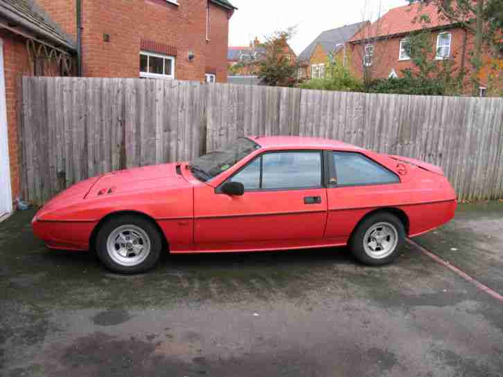 1987 LOTUS ECLAT/EXCEL SE-RED (In Need Of TLC)