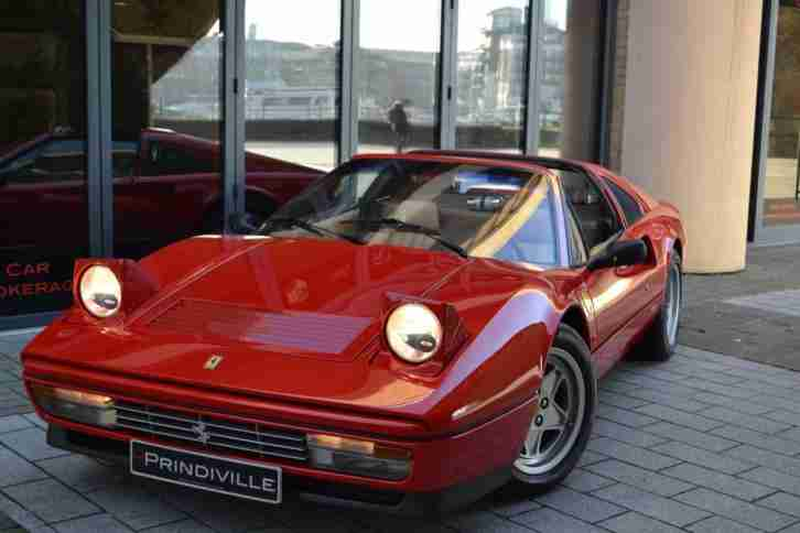 1987 Manual 328 GTS Finished in Rosso