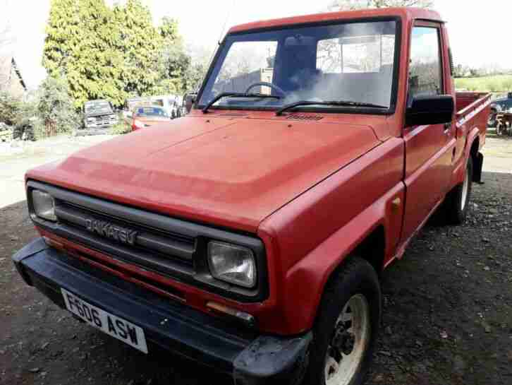 1988 Daihatsu Fourtrak 4track Fourtrack DX F77 4x4 Pick up Pickup Project RARE