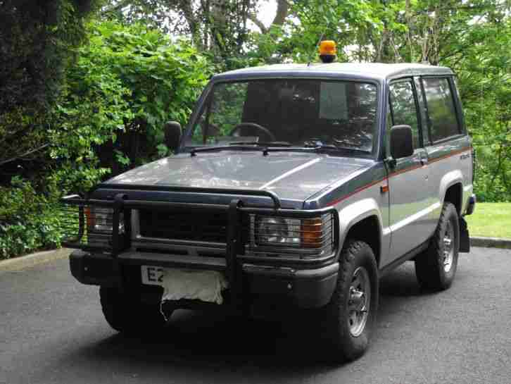 Isuzu 1988 trooper SWB. car for sale