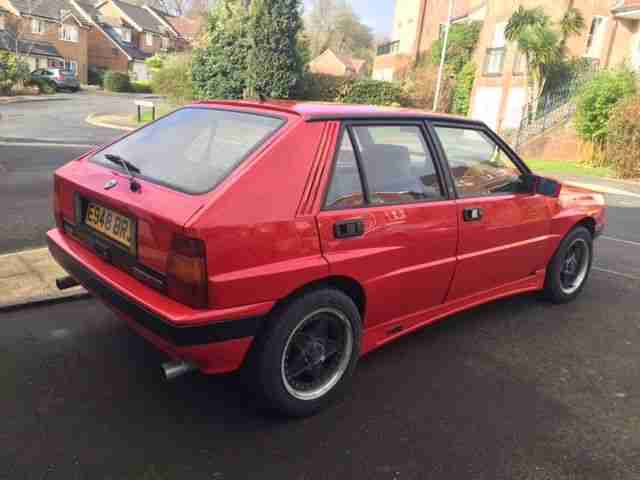 lancia 1988 delta 1 6 hf turbo ie with integrale kit project no. Black Bedroom Furniture Sets. Home Design Ideas