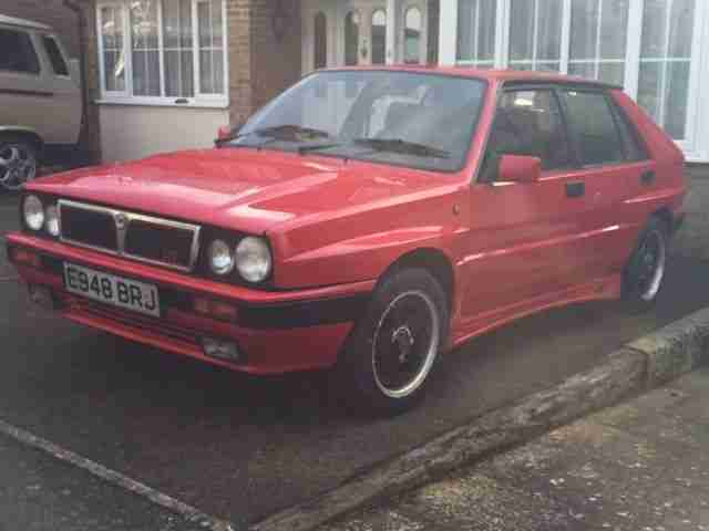 Lancia 1988 DELTA 1.6 HF TURBO IE WITH INTEGRALE KIT PROJECT, No