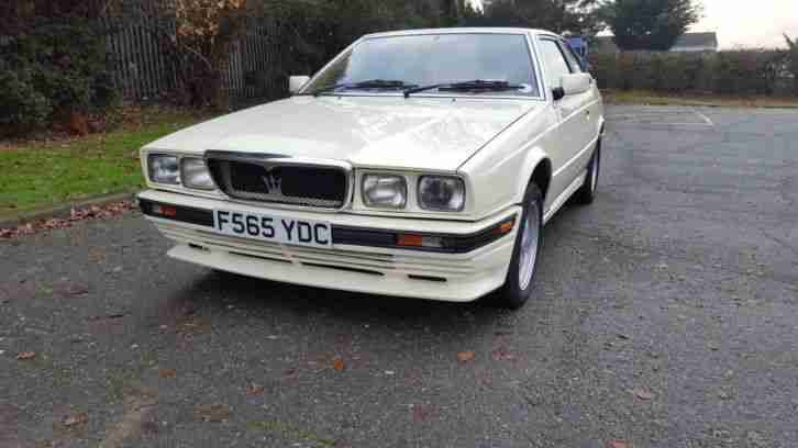 Maserati Biturbo. Maserati car from United Kingdom