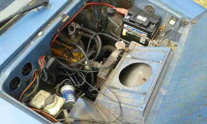 Reliant 1988 Rialto Estate Blue Robin  Car For Sale