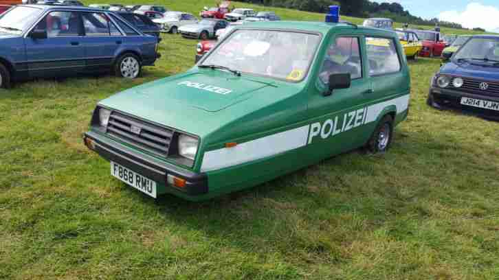 1988 reliant rialto (not robin) retro fun classic