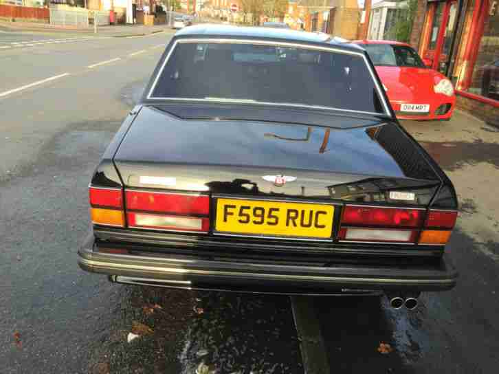 1989 Bentley Turbo R 6.75 V8 Black, Black Leather Spares or Repairs