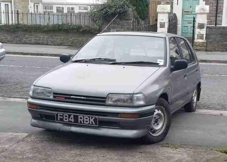 Daihatsu CHARADE TURBO 48k miles s h only 1 left in UK!! prior to gtti