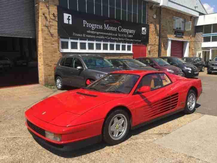 Ferrari 1989 Testarossa 49 2dr Car For Sale