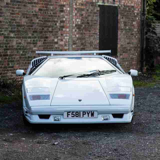 Lamborghini 1989 COUNTACH 25TH ANNIVERSARY. Car For Sale