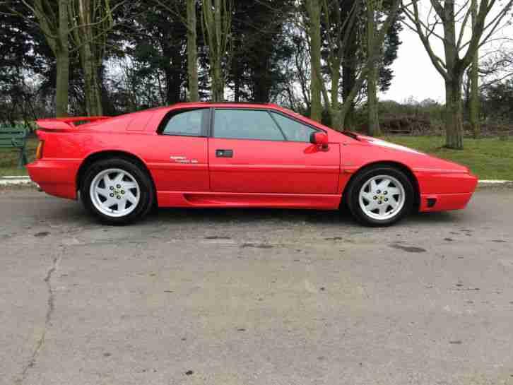Lotus 1989 Esprit Turbo Se Red Car For Sale