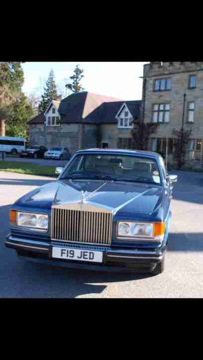 1989 ROLLS ROYCE BLUE