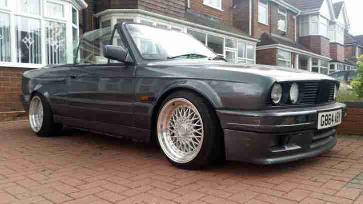 BMW 1990 G E30 325i CONVERTIBLE PROJECT NEEDS SOME TLC
