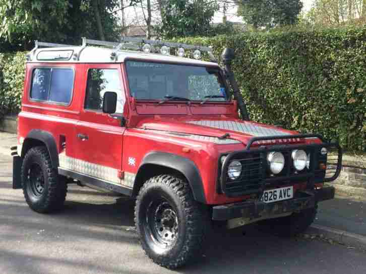 1990 G LAND ROVER DEFENDER 90 COUNTY STATION
