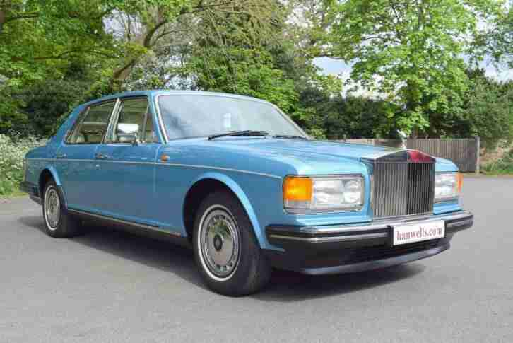 1990 G Rolls Royce Silver Spirit MK II Active Ride in Rhapsody Blue