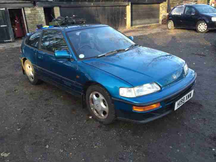 honda 1990 crx vtec barn find one owner bargain dry stored. Black Bedroom Furniture Sets. Home Design Ideas