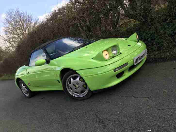 1990 ELAN M100 SE TURBO PISTACHIO GREEN