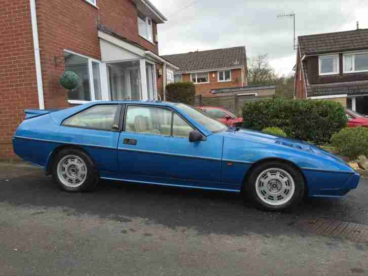 1990 LOTUS EXCEL SE SPARES OR REPAIR EXCELLENT RESTORATION PROJECT