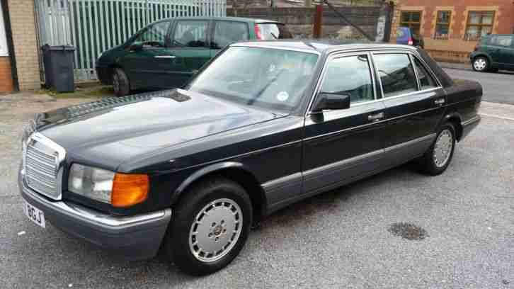 1990 mercedes 300 sel w126 auto black leather electric for Mercedes benz w126 for sale