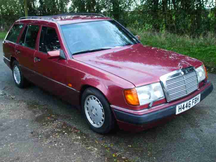 1990 mercedes 300te estate 7 seater automatic no reserve for Mercedes benz 7 seater for sale