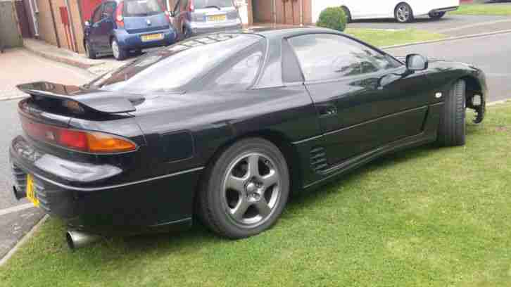 1990 MITSUBISHI BLACK GTO 3,0 LITRE CC AUG MOT LOVELY CONDITION 80000 MILES