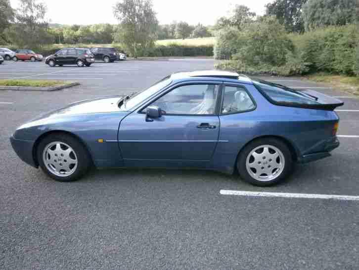 porsche 1990 944 s2 blue car for sale. Black Bedroom Furniture Sets. Home Design Ideas