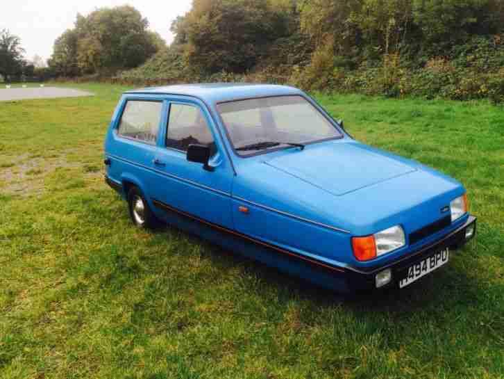 reliant 1990 robin lx blue mot only 21000 genuine miles car for sale rh bay2car com Messerschmitt KR200 Morgan 3 Wheeler