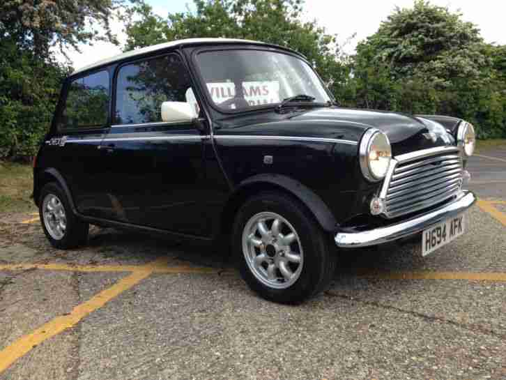 Rover 1990 Mini Racing Flame Checkmate Black 1000cc Only 19k From