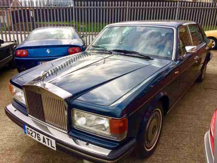 1990 Rolls-Royce Silver Spur II WARRANTED 6000 MILES STUNNING LHD