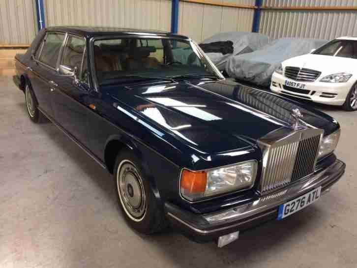 1990 Rolls Royce Silver Spur II WARRANTED ORIGINAL 6165 MILES STUNNING LHD